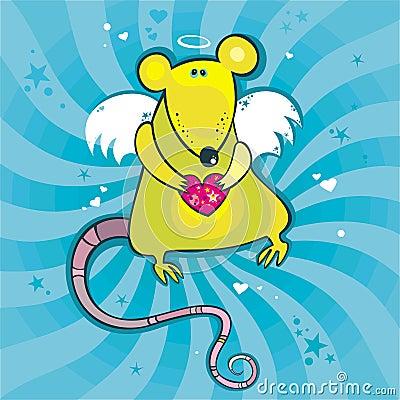 Ancel cupid rat