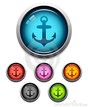 Anchor button icon