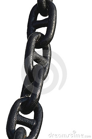 Free Anchor Chain Stock Photography - 1288872