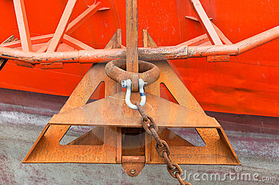 Anchor of Drill Ship