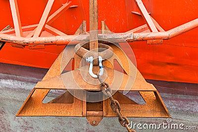 Anchor of Drill Ship