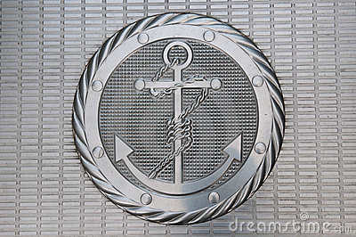 Anchor metallic plate