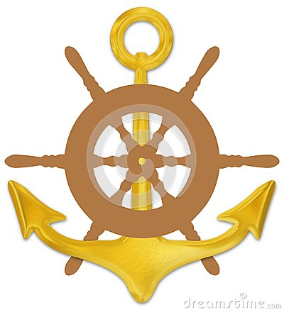Anchor and Wheel