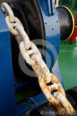 Free Anchor Winch Stock Image - 66234011