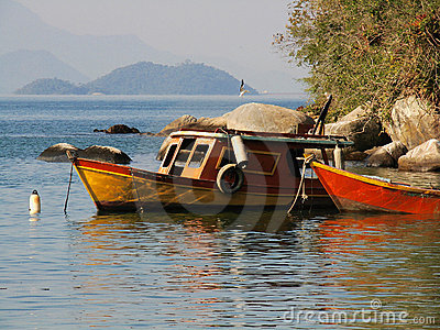 Anchored Boats 5