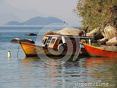 Anchored Boats 5
