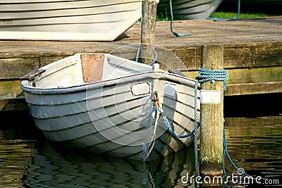 Anchored Row Boat