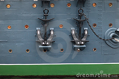 Anchors of Aurora cruiser