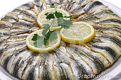 Anchovy pilaf(hamsi pilav)