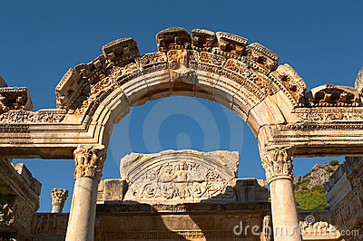 Ancien arch in Ephesus