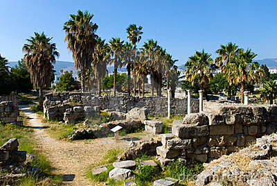 Ancient Agora view