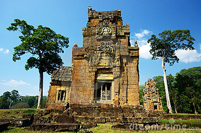 Ancient Angkor Ruins