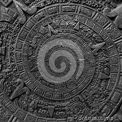 Free Ancient Antique Classical Spiral Aztec Ornament Pattern Decoration Design Background. Abstract Texture Fractal CCW Spiral Backgrou Royalty Free Stock Images - 102350199