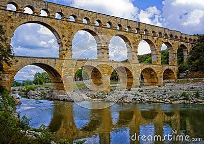 Ancient Aqueduct, Provence France