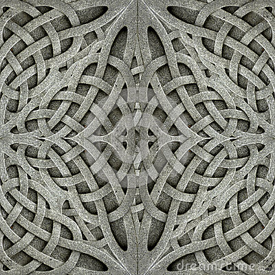 Free Ancient Arabesque Stone Ornament Royalty Free Stock Image - 44028816
