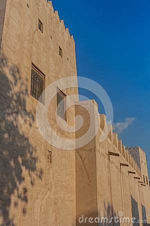 Ancient Arabic building