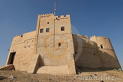 Ancient arabic castle