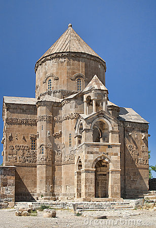 Ancient Armenian church on Akhtamar Island