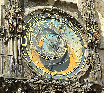 Prague, Ancient astronomical clock