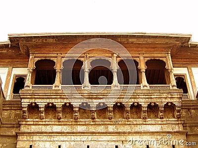 Ancient Balcony