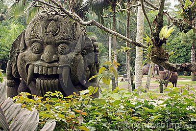 Ancient balinese idol
