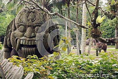 Ancient balinese idol