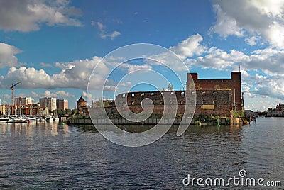Ancient baltic city Gdansk.