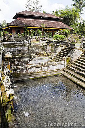 Ancient Bathing Pools, Gua Gajah, Bali, Indonesia