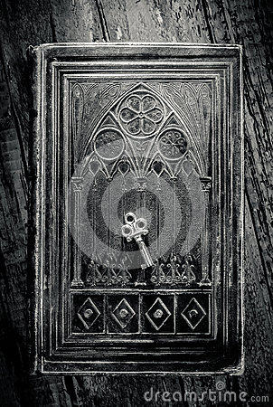 Ancient Book and Key