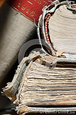 Free Ancient Books - Macro Stock Image - 12057341