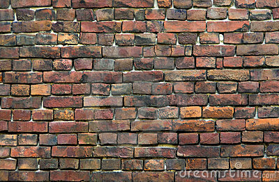 Colourful Bricks Wall Stock Photography - Image: 111912