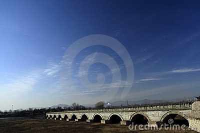 Ancient bridge of China