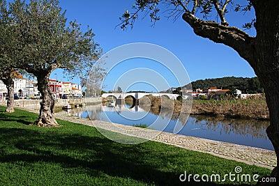 Ancient bridge in Silves