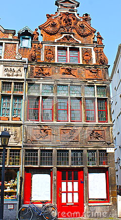 Ancient Building in Ghent, Belgium