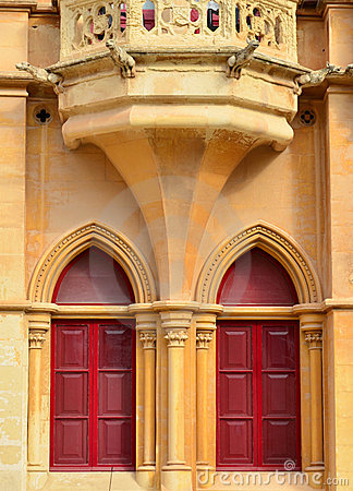 Ancient building in Mdina - Malta