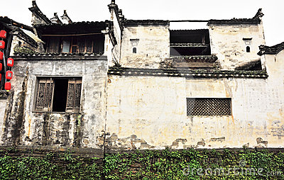 Ancient building of qing and ming dynasty