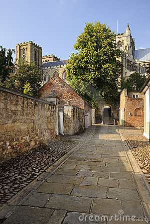 Ancient byway, Ripon Cathedral