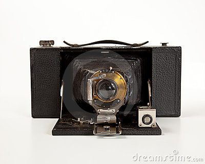 Ancient Camera in front view