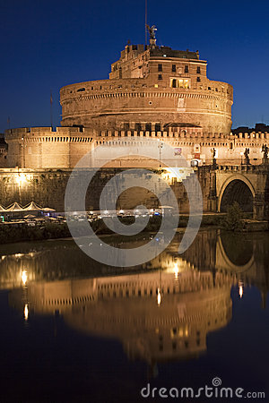 Ancient Castel Sant Angelo, Rome, Italy