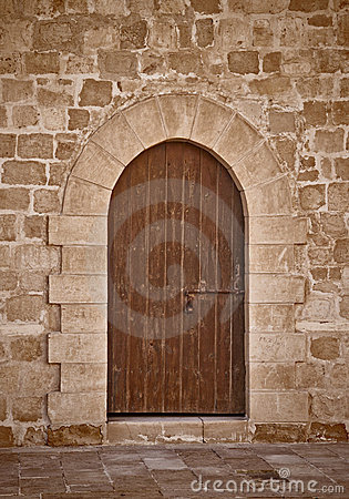 Ancient Castle Door