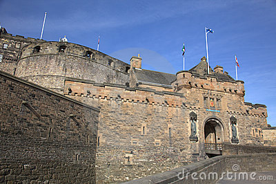 Ancient Castle in Edinburgh