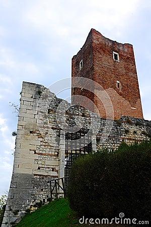 Ancient castle of Juliet in Montecchio