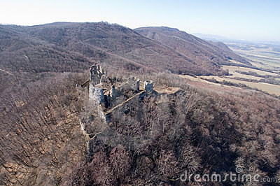 Ancient castle ruins