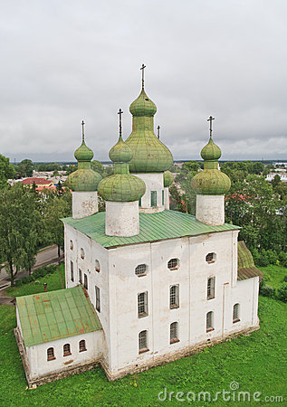 Ancient cathedral in north Russia