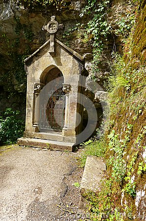 Ancient catholic shrine, Rocamadour, France