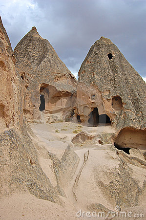 Ancient Caves in Goreme, Cappidocia