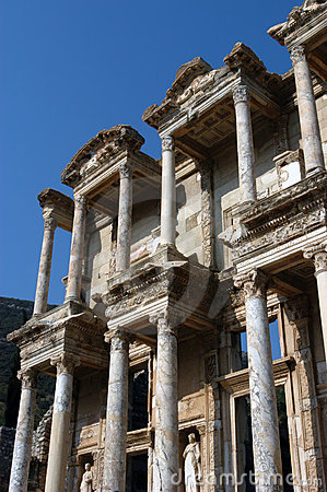 Ancient Celsius library in Efes