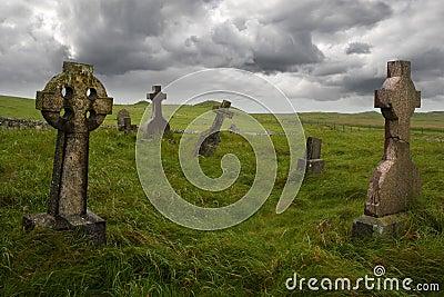 Ancient Celtic gravesite