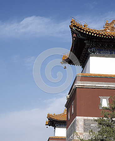 Ancient Chinese Architectures in Summer Palace