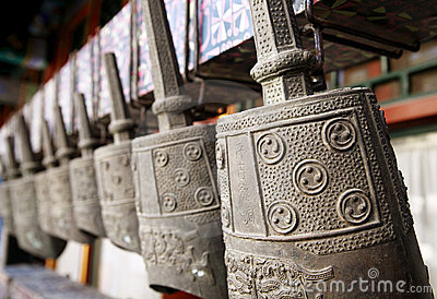 Ancient Chinese bronze chime